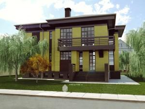 Жилой дом в д.Уптино