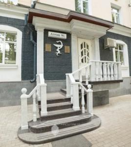 Входная группа в аптеку по ул.К.Маркса, 67 в г.Уфа