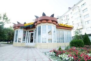 Проект торгового павильона на пересечении ул.Кирова и ул.Ленина в г.Уфа
