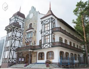 Здание гостиницы в Олимпик-парке в г.Уфа