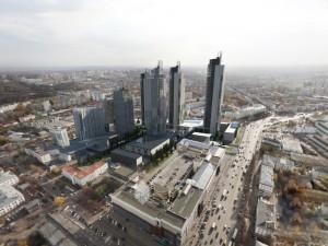 Эскиз квартала с размещением IT-парка по пр.Октября в г.Уфа