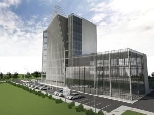 Эскиз офисного здания по ул.Воровского в г.Уфа