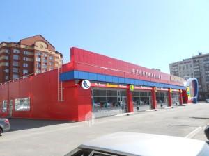 Проект комплексного информационного оформления торгового комплекса по ул.Мушникова, 13 в г.Уфа