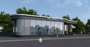 Проект остановочного павильона на трассе Уфа-Аэропорт в г.Уфа
