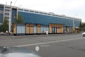 Проект реконструкции остановочного павильона по ул.Коммунистическая в г.Уфа