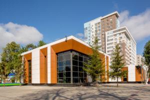 Проект павильона общественного питания по ул. Ухтомского в Демском районе городского округа город Уфа РБ