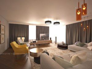 Дизайн-проект интерьера квартиры в г.Нефтекамск