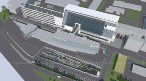 Эскизное предложение офисного здания и благоустройства прилегающей территории по проспекту С.Юлаева в г.Уфа
